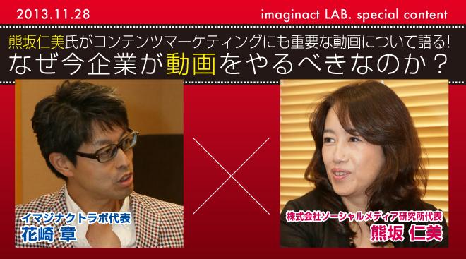 熊坂仁美氏がコンテンツマーケティングにも重要な動画について語る!なぜ今企業が動画をやるべきなのか?