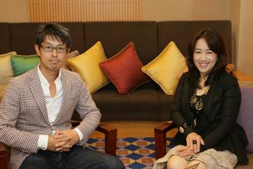 インタビューを終えて熊坂仁美氏と