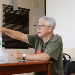 ストーリー理論を学ぶ社内研修会-写真-岡田勲氏3